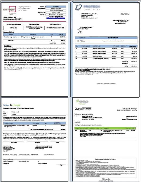 Portfolio Customize Zoho Crm Quote Invoice Sales Order Template Samples Yutechs